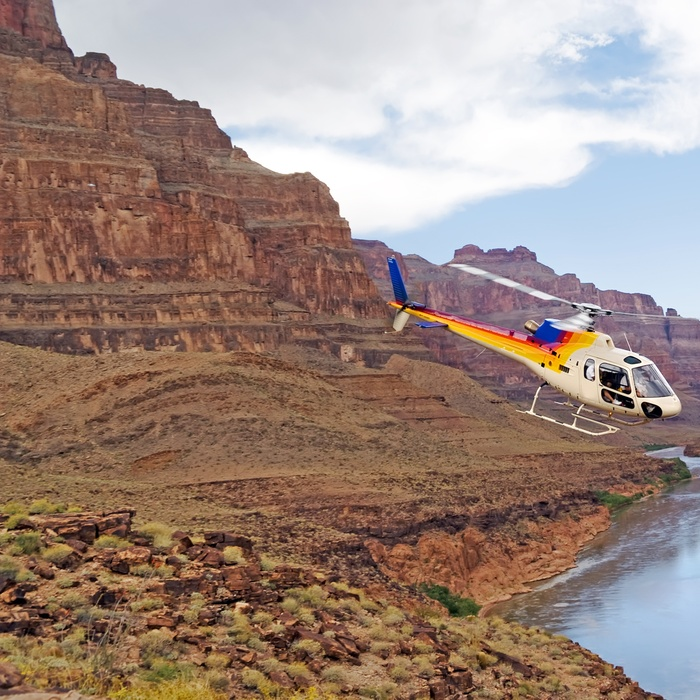Helikopter i Grand Canyon, USA
