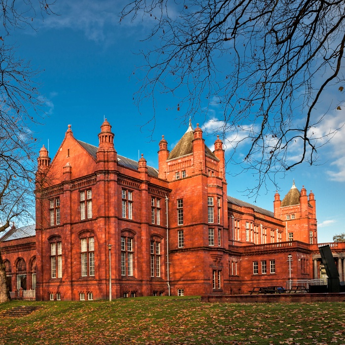 The Whitworth Art Gallery i Manchester, England