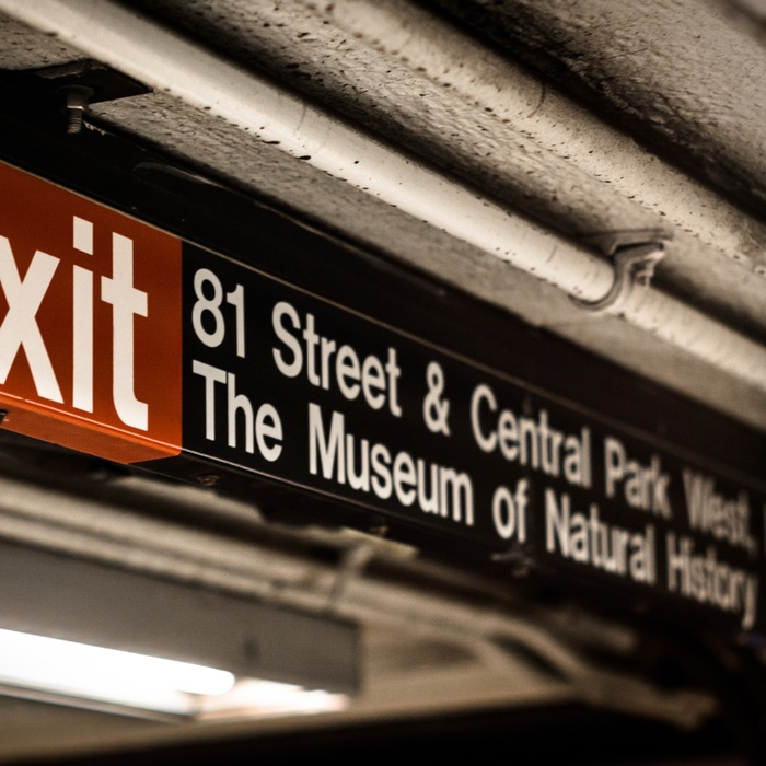 Subwaystationen 81st street Central Park West i NYC