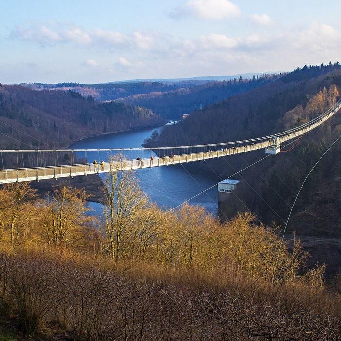 Titan RT Suspension Bridge, Harzen, Tyskland