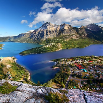 Waterton Lakes National Park, Alberta i Canada