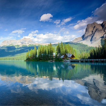 Emerald Lake i Yoho Nationalpark