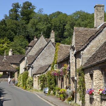 Castle Combe, Cotswolds, Wiltshire, UK