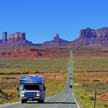 Cruise America Motorhome, Monument Valley i USA