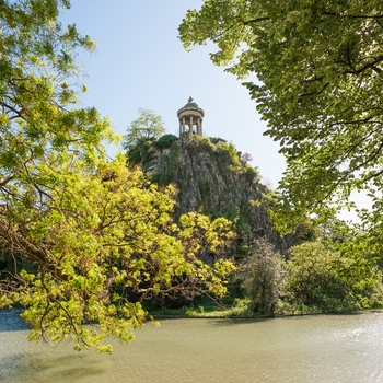 Parc de Buttes-Chaumont i Paris