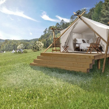 Glamping i Great Smoky Mountains, Deluxe