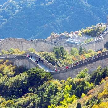 Den Kinesiske Mur Mutianyu Fdm Travel