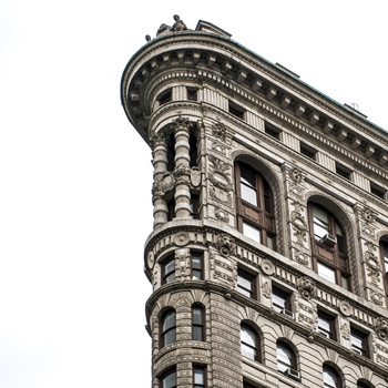 Flatiron i New York City