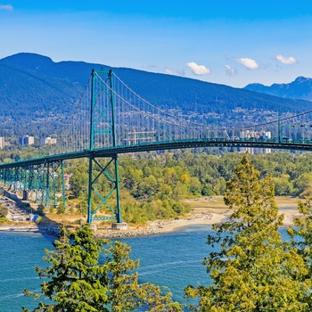 Lions Gate Suspension Bridge, Vancouver i Canada