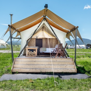 Glamping i West Yellowstone - Deluxe