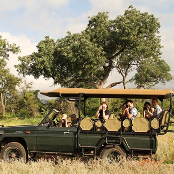 På safari fra Mpala Safari Lodge