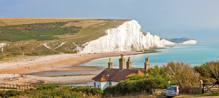 South Downs Nationalpark i det sydlige England