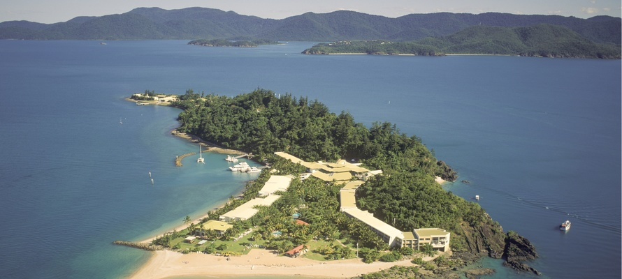 Daydream Island i the Whitsundays i Queensland, Australien