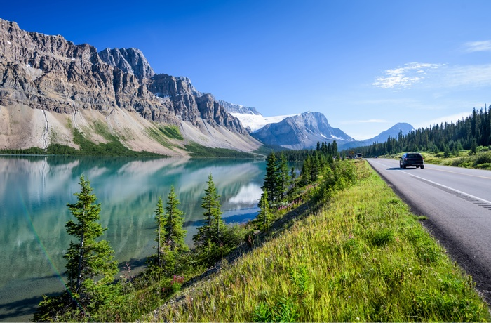 Icefields Parkway i Canada