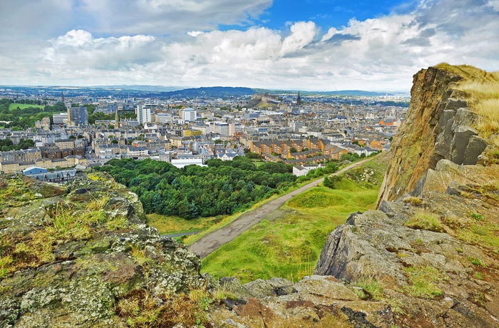 Edinburgh set fra Arthurs Seat