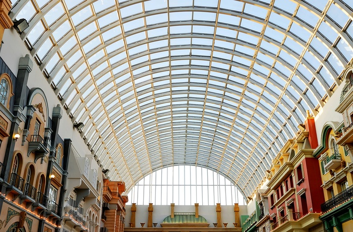 Shoppingcenteret West Edmonton Mall, Alberta i Canada