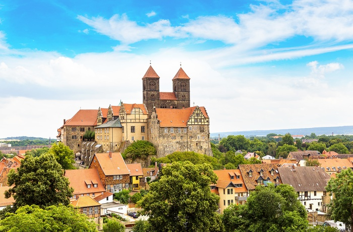 The Castle Hill, Quedlinburg, Harzen