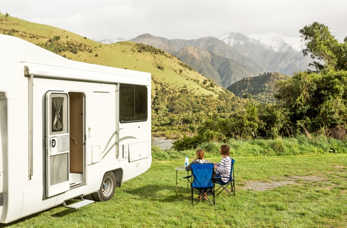 Mighty Double Up autocamper - New Zealand