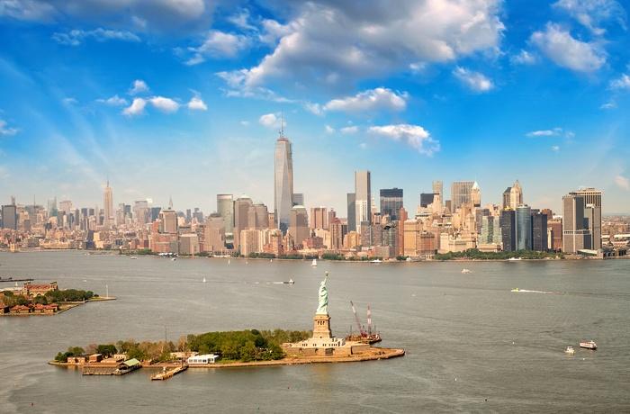 Frihedsgudinden I New York Fdm Travel