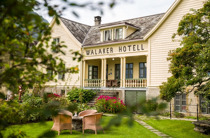 Hovedhuset ved Walaker Hotel, Norge