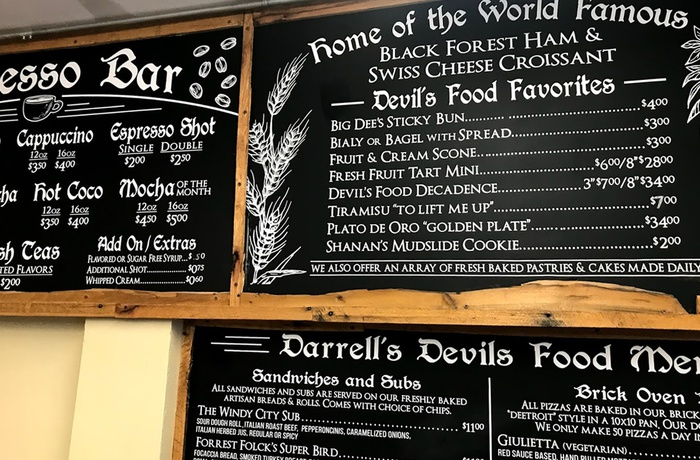 Darrel´s Devils Food i Coos Bay, Oregon i USA