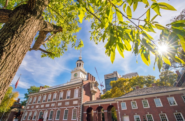 Independence Hall i Philadelphia, USA
