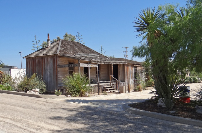 Roy Bean museum i Langtry i sydvest Texas, USA