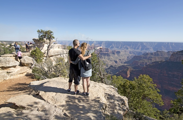 Grand Canyon i det vestlige USA