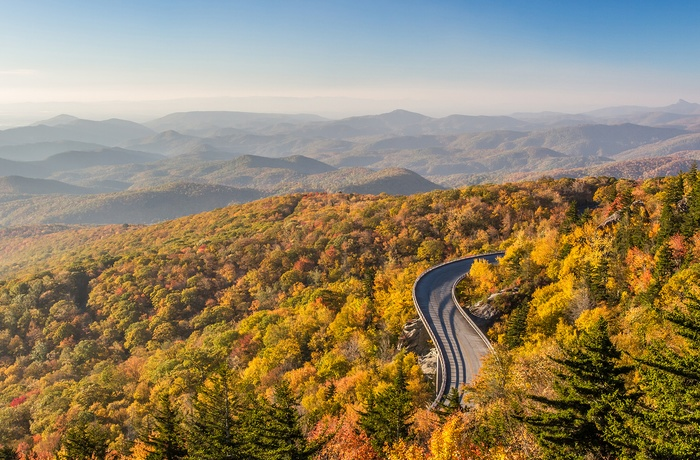USA Virginia Blue Ridge Parkway