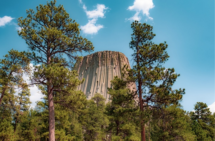 Devil's Tower i Wyoming