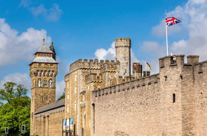 Cardiff Castle i Wales