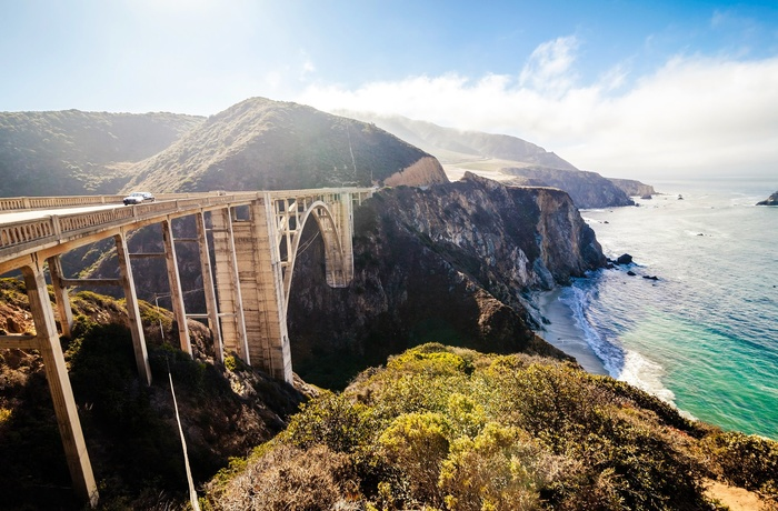 Bixby Bridge langs Highway 1