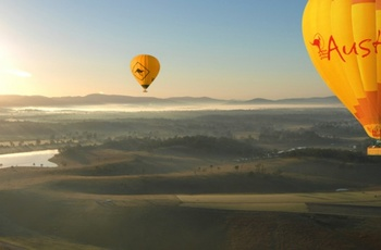 Hot Air Balloon, Atherton Tablelands