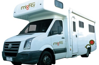 Mighty Big Six Clearcut - motorhome i Australien