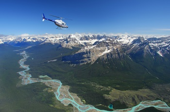 Columbia Icefields, Mountain Tour i Alberta, Canada