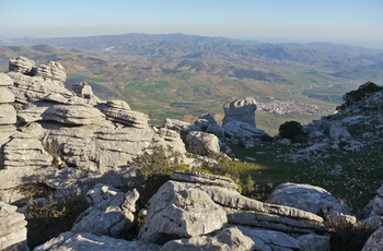Naturreservatet El Torcal, Andalusien