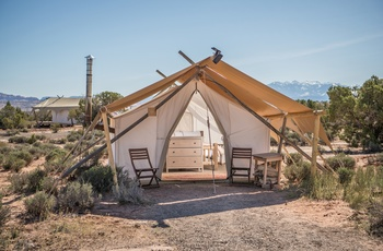 Glamping i Arches - Safari