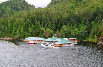 Knight Inlet Lodge i British Columbia, Canada