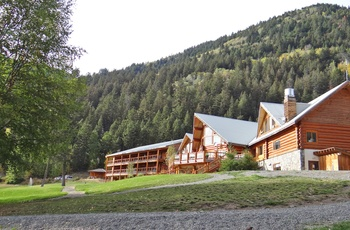 Tyax Lodge i British Columbia, Canada