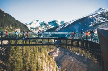 Glacier Skywalk, Alberta i Canada