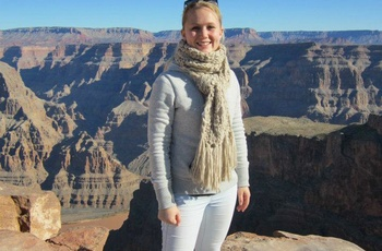 Christina i Grand Canyon - rejsespecialist i Lyngby