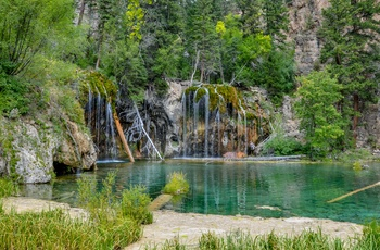 Hanging Lake i White River National Forest, Colorado i USA