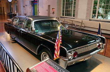 "Henry Ford Museum - Kennedys limousine - photo credit to ""The Henry Ford"""