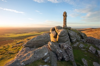 Widgery Cross i Dartmoor Nationalpark