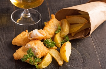 Fish and Chips i England