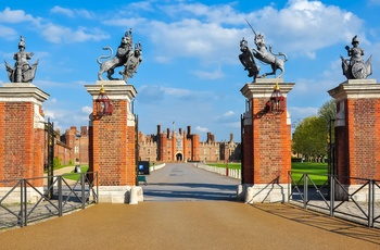 Hampton Court Palace i Sydengland