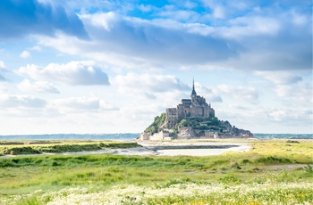 Mont Saint Michel i Normandiet