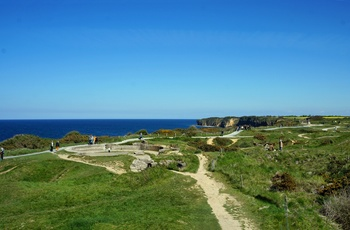 Pointe du hoc i Normandiet