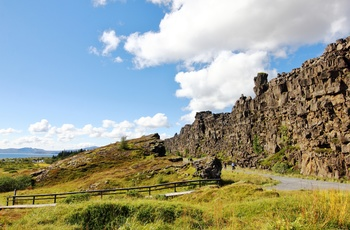 Thingvellir nationalpark i Island