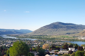Panoramaudsigt over Kamloops